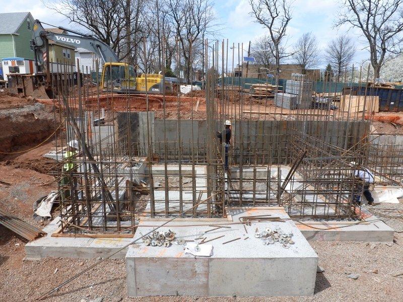 Stair -4,5- Elev. 7 Foundation wall rebar (800x600)