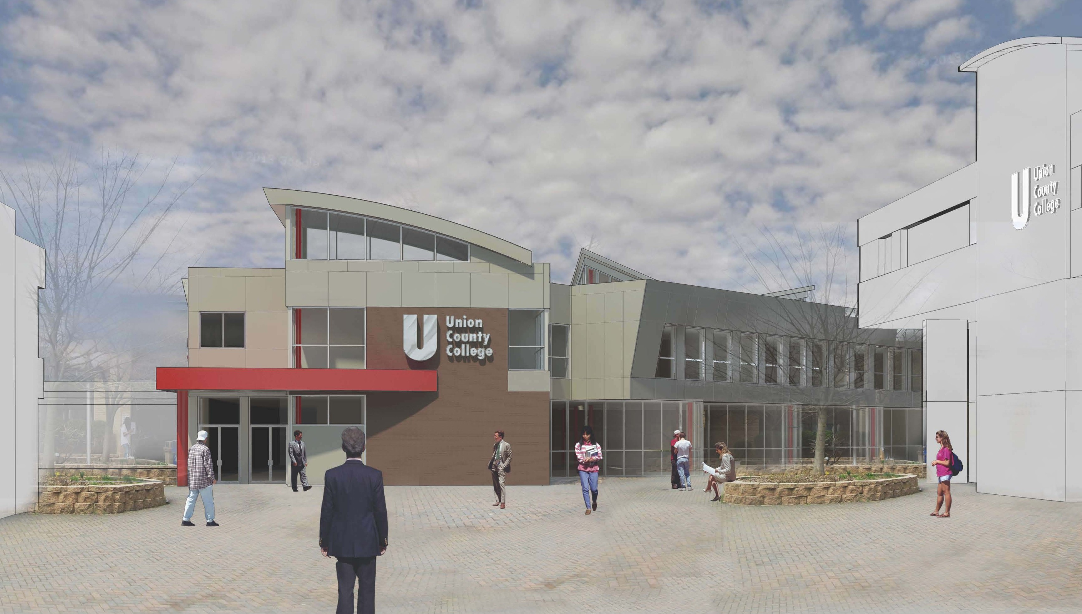 New jersey union county cranford - New Student Services Addition